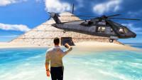 荒岛求生211:我在金字塔暗室,发现战斗机残骸,成功获救?