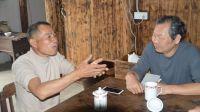 皖南旅行日记第二天--金龙山写生 探访制茶奇人