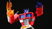 小津的变形金刚玩具视频—第三方MAGIC SQUARE 魔方MS-01X金属色擎天柱