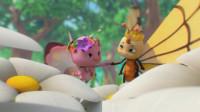 萌鸡小队2:蝴蝶王子让朵朵当公主?朵朵的兄弟们来了!