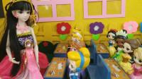 小公主们搬进新教室,罗丽老师按大小个排座位,安柏为啥不同意?