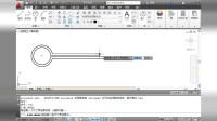 CAD2013第9章线性标注半径标注角度标注基线标注快速标注调整标注间距支座