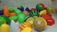 切水果_切蔬菜过家家玩具视频