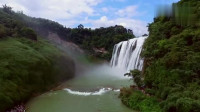 航拍贵州黄果树瀑布民俗小镇风光, 名族风味十足的地方, 旅游胜地