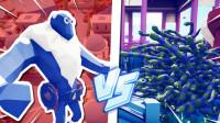 1个冰霜巨人挑战500万变种人,谁会赢?全面战争模拟器!时空小涵