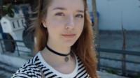 外国元气少女希腊度假音乐短片,景色真是美