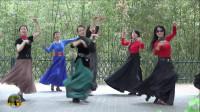 紫竹院广场舞,花开的季节舞蹈九《恰恰》