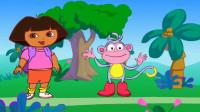 爱探险的朵拉第8季,朵拉和布茨一起修桥游戏