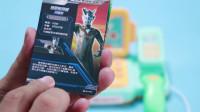 腾飞说玩具208 奥特曼卡片X档案荣耀版开盒第3弹 闪耀赛罗