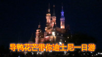 上海行Vlog04:导鸭花芒带你迪士尼一日游,导演小黄鸭露脸啦!