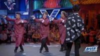 这就是街舞2:冯正和另两位大神第一个出场,跳哑剧既幽默又搞笑