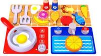 趣味食玩:认识各种水果和蔬菜  水果切切乐  蔬菜切切乐