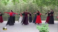 紫竹院广场舞,花开的季节舞蹈十九《月满西楼》