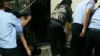 男子酒后在自家阳台晾衣架上吊欲轻生 妻子在外地报警救助