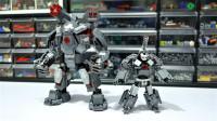 乐高MOC拼装钢铁侠我的战争机器人积木玩具