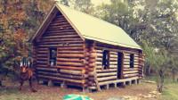 外国大叔丛林搭建树屋,实在太完美了,我都想动手盖一座!