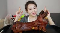 新疆吃播:一个超大的牛蹄,你能吃饱吗?我看了是口水直流!