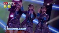 AKB48 唱《对面的男孩看过来》,唱得这么甜一定是吃糖长大的
