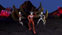 奥特曼系列游戏 奥特曼传奇英雄 雷欧打败泰兰特