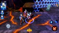 奥特曼系列游戏 奥特曼传奇英雄 赛罗打败金古桥