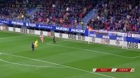 西甲-梅西一分钟双响库库雷利亚建功 巴萨2-2客平埃瓦尔