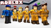 Roblox 疯狂都市!成为狱警用手铐把越狱犯全部抓回来!