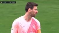 第4分钟巴塞罗那球员梅西射门
