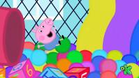 太棒了!小猪佩奇和乔治的玩具大比赛,谁是大赢家呢?儿童玩具故事