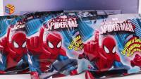 蜘蛛侠战车惊喜袋终于收集齐所有蜘蛛侠车车