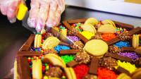 最超值的甜品来了!巧克力、饼干、糖果各种好吃的一次吃个够!