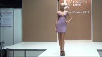 韩国国际时装周泳装秀,浪漫梦幻的紫色,看上去好美啊!