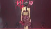 亚洲模特大赛内衣秀,酒红色薄纱超性感,看了一遍又一遍!