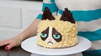 这个发脾气的猫咪,原来是牛人用蛋糕做的?这创意我给满分