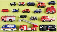 消防车警用吉普车卡车玩具介绍