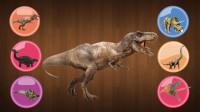 认识恐龙第一集 认识霸王龙剑龙三角龙等六种恐龙