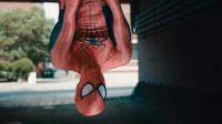 自制炫酷特效:美女街头遇坏人,蜘蛛侠现身相救,蛛丝变化莫测