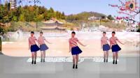 阳光美梅原创广场舞《我的爱只为你存在》健身舞-编舞:美梅