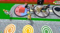 Roblox 小游戏模拟器!我要做山丘之王打赢所有敌人!