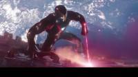 精彩漫威系列:钢铁侠的纳米激光战甲切割外星飞船的厚铁皮,结果就跟切豆腐一样
