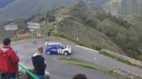 WRC拉力赛,即使是高手,遇到这种弯道也不得不怂