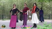 紫竹院广场舞,花开的季节时装模特二《真的好想你》
