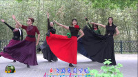 紫竹院广场舞,花开的季节舞蹈二十《千古一醉》
