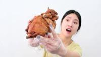 """38元的德州""""扒小鸡"""",据说加热一下和刚出锅一个味道,真的吗?"""
