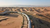 中国帮沙特建世界首条沙漠高铁,耗资1100亿长达480公里,外媒:奇迹!