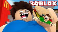 小格解说 Roblox 吃货逃生:疯狂吃货吃掉一切!欢乐美食总动员?乐高小游戏