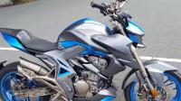 国产摩托车终于发力了,大魔鬼升仕310V,动力强悍战斗范儿十足