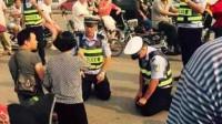 男子酒驾被查嚣张跋扈,在场交警都得向他下跪!网友:什么来头?