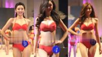 韩国小姐大赛漂亮模特泳装走秀精彩片段二