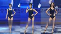 韩国小姐大赛漂亮模特泳装走秀精彩片段三