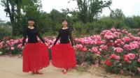 阳光美梅原创广场舞-【站着等你三千年】优美三步舞-编舞:美梅